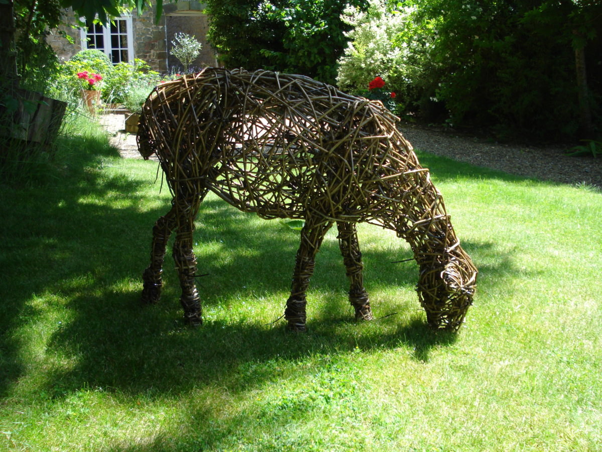willow, sheep, outdoor sculpture, animal sheep sculpture, willow sheep