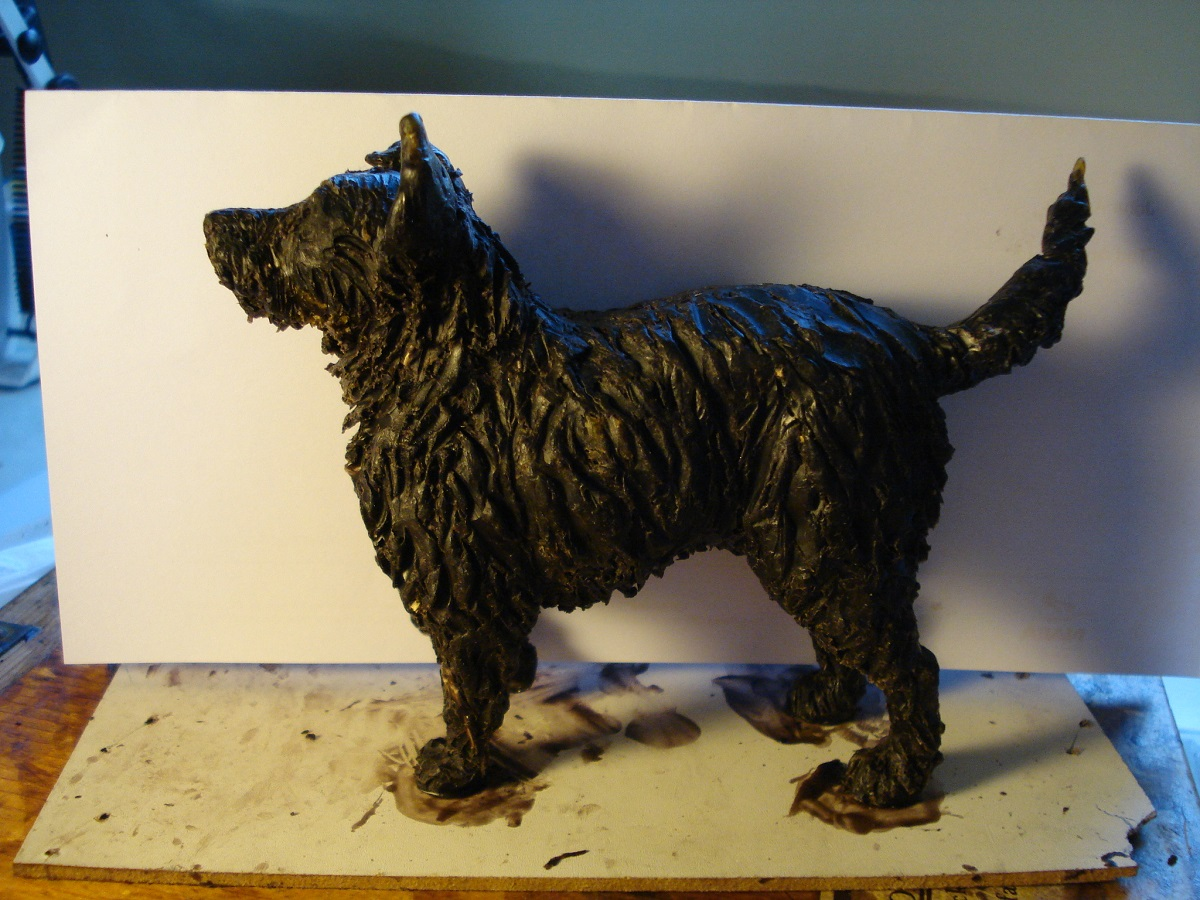 dog sculpture, bronze dogs, small dog sculpture, dog sculpture commission of